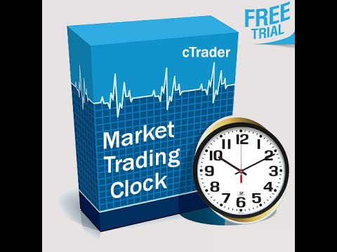 Ctrader Market Trading Clock Indicator Youtube