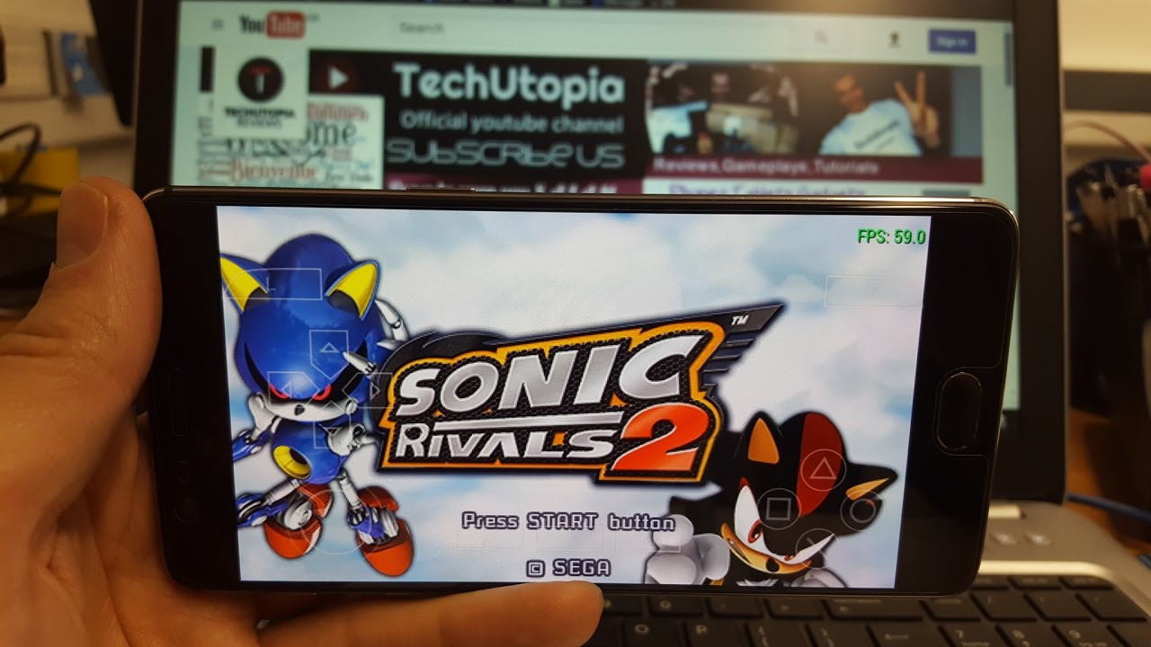 Sonic Rivals 2 Android Gameplay With Ppsspp Adreno 530 Psp Games