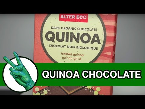 Alter Eco Quinoa Organic Chocolate Bar - Runforthecube Food Review