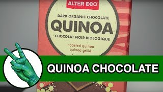 Alter Eco Quinoa Organic Chocolate Bar - Runforthecube Food Review