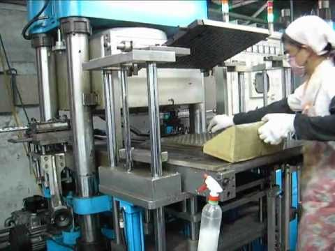 Epdm Rubber Parts Making Process Youtube