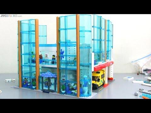 Custom LEGO hospital MOC progress #6