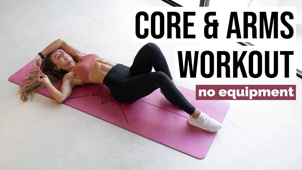 TIGHT CORE & TONED ARMS Workout   24 Day SHRED CHALLENGE