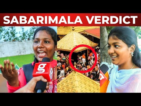 'தப்பான தீர்ப்பு' - Chennai Girls on Women Entrance in Sabarimala Temple | MM 34