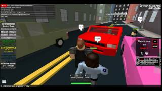 Roblox TRC patrol episode 2 part 2 - traffic stop and part of a chase!