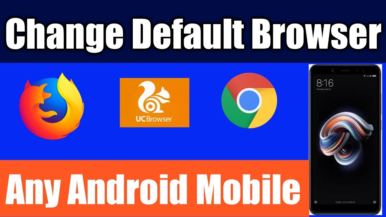 how to change default browser in Xiaomi/Redmi/Mi devices 2019 | Technical  Subhajit