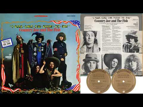Country Joe & The Fish - I-Feel-Like-I'm-Fixin'-To-Die (1967) [Stereo Mix] {FULL ALBUM}