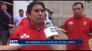 Víctor Larco: Bomberos desmienten a alcalde