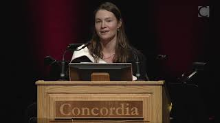 Chloé Evans, 2019 Concordia Valedictorian
