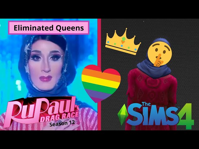 Making Eliminated RPDR Queens in The Sims 4   Jackie Cox