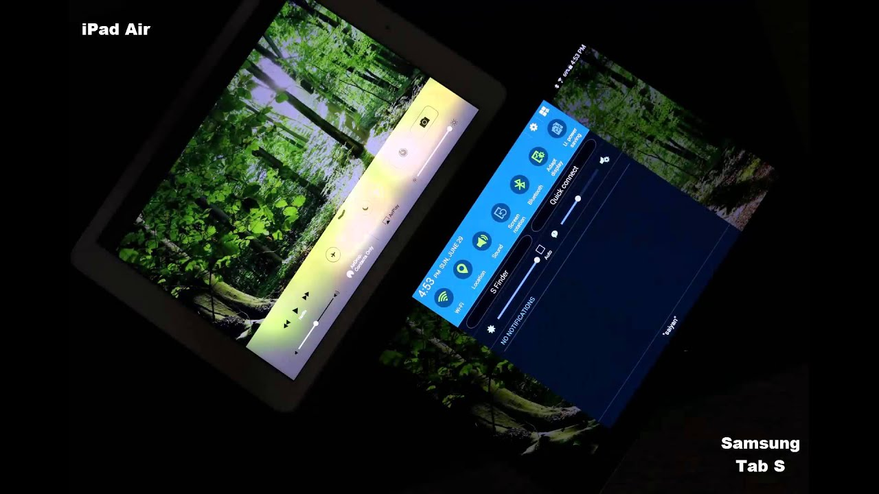 Samsung Tab S Super AMOLED vs iPad Retina IPS LCD: Display ...