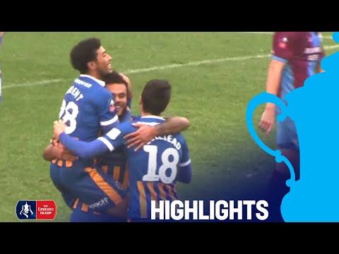 Shrewsbury 1-0 Scunthorpe | Great Finish from Amadi-Holloway! | R2 | Emirates FA Cup 18/19