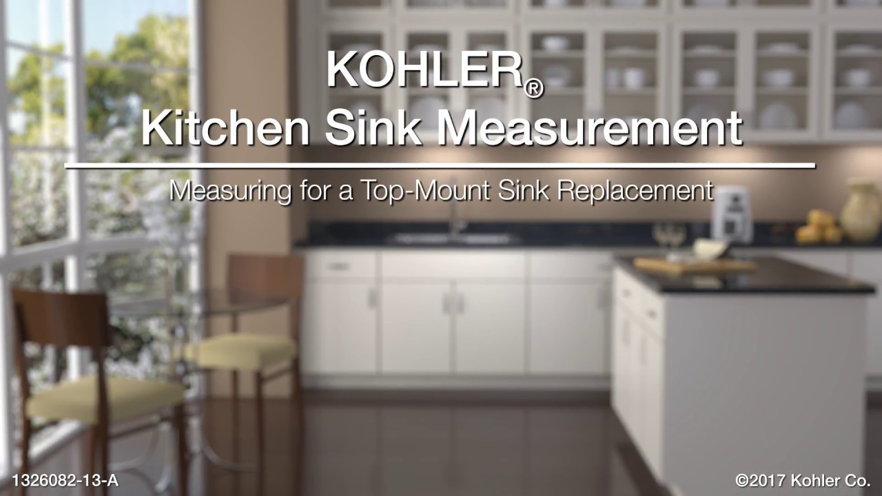 Measuring for a top mount sink replacement youtube measuring for a top mount sink replacement workwithnaturefo