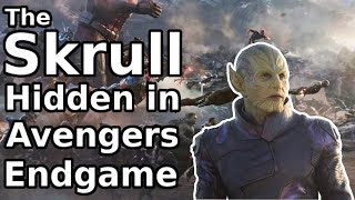 I FOUND A SKRULL HIDDEN in Endgame || Avengers Theory