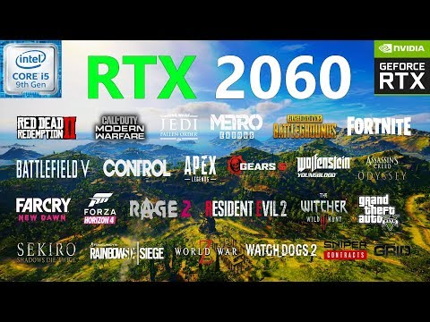 RTX 2060 Test In 25 Games