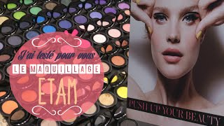 ♡J'ai Testé Pour Vous: Maquillage ETAM (Push Up Your Beauty) Thumbnail