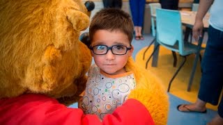Berenstain Bears make a special visit to children&#39s hospital