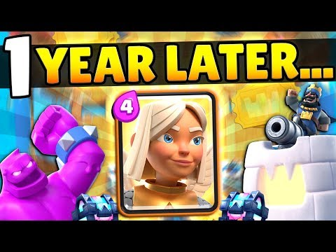 CLASH ROYALE FOR FIRST TIME IN ONE YEAR!
