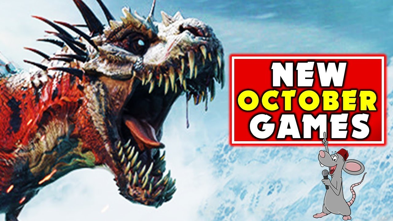 New SURVIVAL Game RELEASES And Updates For OCTOBER Plus Most Hyped Other Games!