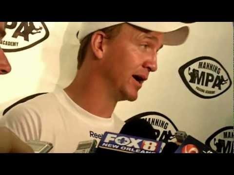 2012 Manning Passing Academy: Peyton Manning July 13th