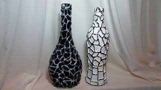 видео Декоративные бутылки своими руками