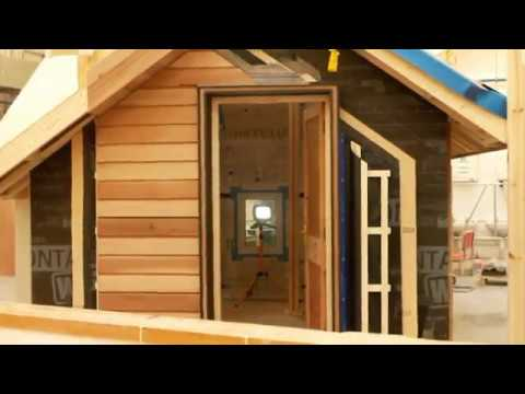 BSc. Advanced Wood & Sustainable Building Technology Passive House Design 2016-2017