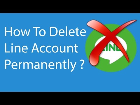 How To Delete Your Line Account Permanently -2016 ?