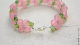 Браслет из бусин и бисера своими руками/ Bracelet bead