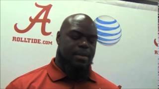 Alabama football players react to speech by