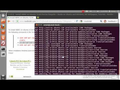 Install XBMC on Ubuntu 12.04 Precise Pangolin
