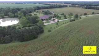 500 SW County Line Rd., Benton, Kansas 67017 Home on 45+- Acres For Sale