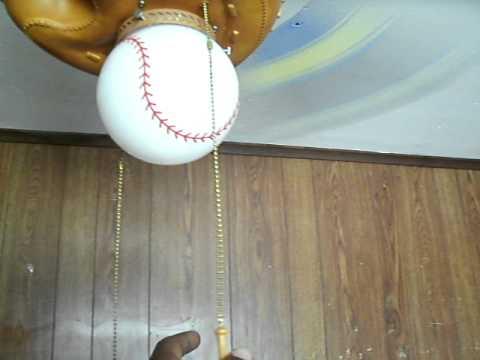 Hunter baseball ceiling fan youtube hunter baseball ceiling fan aloadofball Gallery