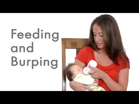 How to Bottle Feed and Burp your Newborn Baby