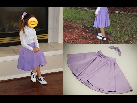 Diy Poodle Skirt Minus The Poodle And Matching Hair Sash