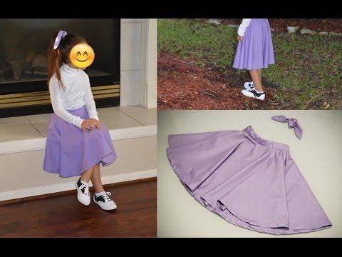 DIY Poodle Skirt Minus The And Matching Hair Sash