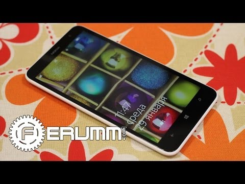 Nokia Lumia 1320 обзор. Подробный видеообзор смартфона Nokia Lumia 1320 от FERUMM.COM