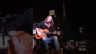 Abri van Straten performs his song 'Pacific Coast Highway '