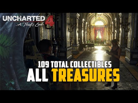 Uncharted 4: A Thief's End - All Treasures Location Guide (Treasure Master / Relic Finder Trophy)