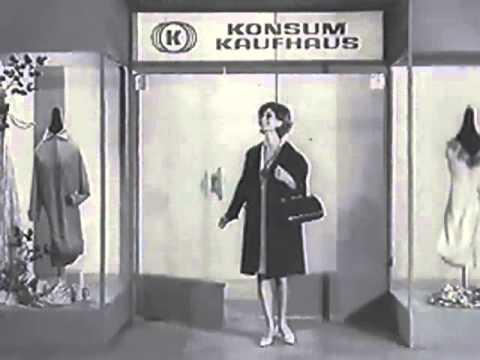 DDR Werbung 60er Jahre - Konsument und Konsum Warenhaus ...
