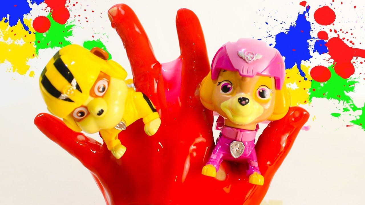 Щенячий патруль игрушки пальчики