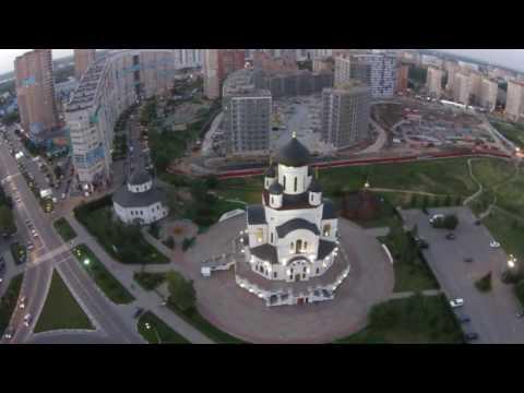 Город Мытищи с высоты птичьего полёта