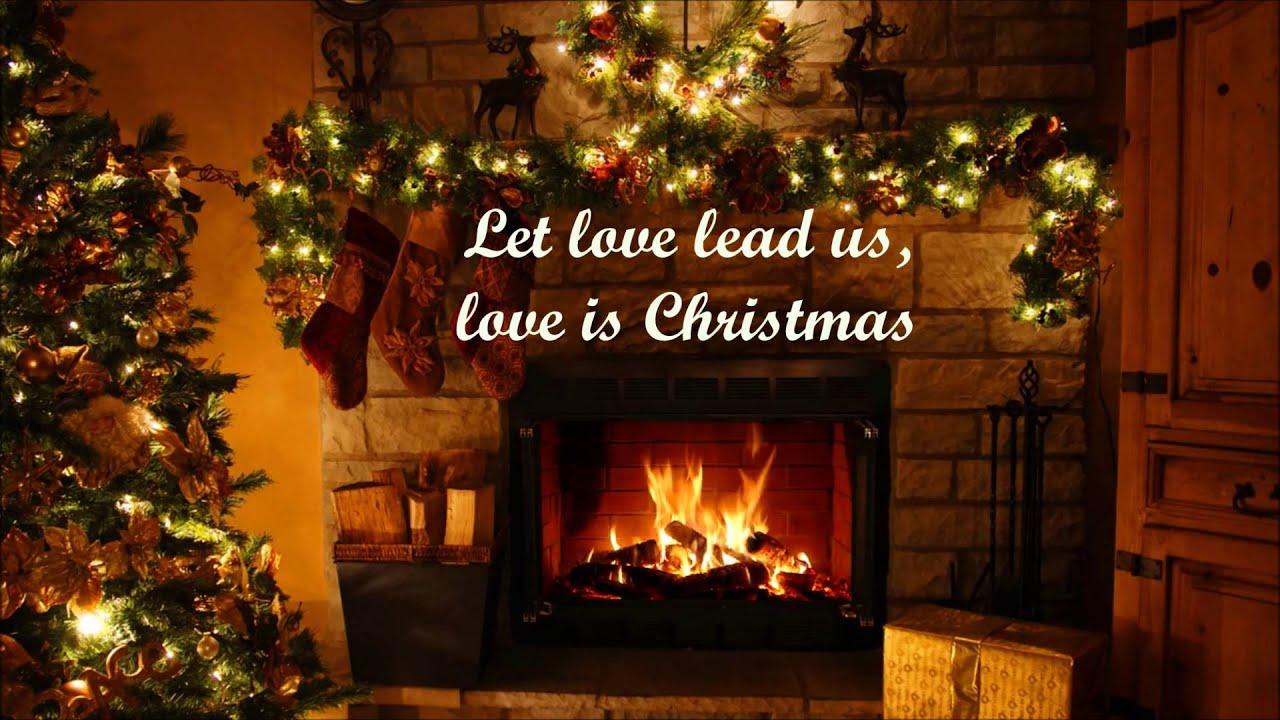 Sara Bareilles - Love Is Christmas Lyrics [HD] - YouTube