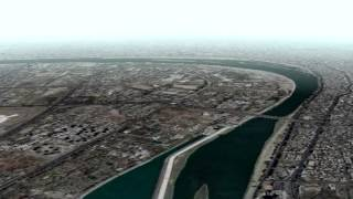 Digital Globe Terra Tracer Demo, Baghdad, Iraq
