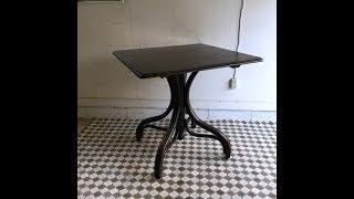 THONET トーネットのカフェテーブル/ベントウッド/リプロダクション/チェコ G25