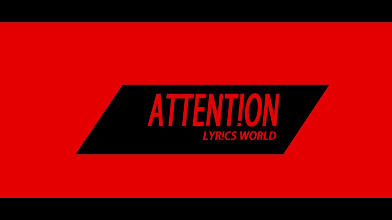 Charlie Puth - Attention (Lyrics) - YouTube