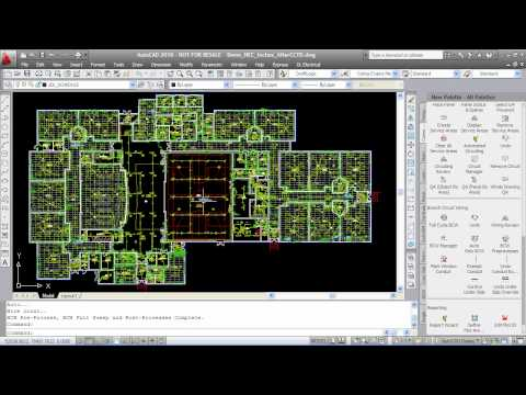Highest Productivity Building Electrical Design : DraftLogic Electrical HIGH DEF Quick Demo