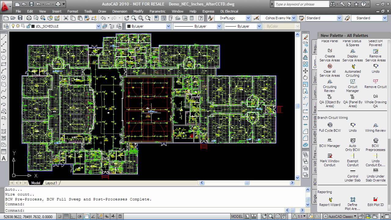 Highest productivity building electrical design for House electrical design
