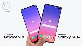 Samsung Galaxy S10 & S10 Plus - BEST Look Yet!