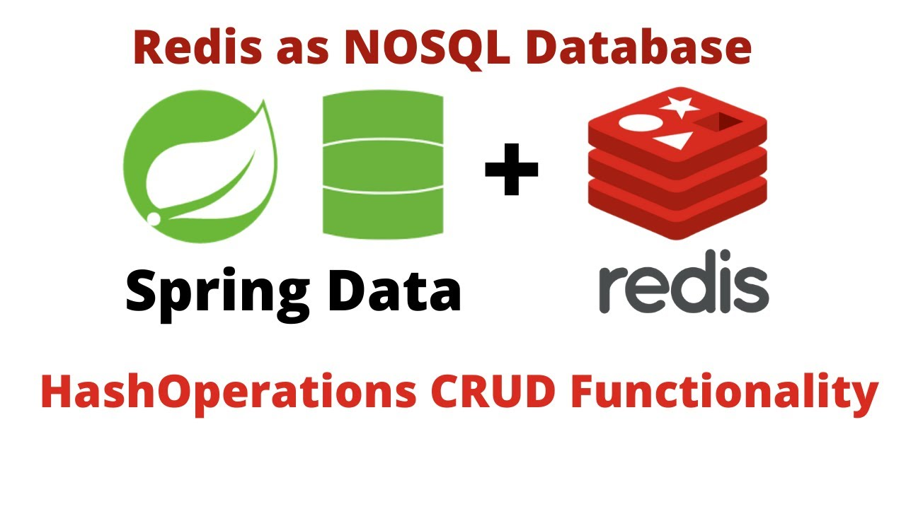 Spring Data with Redis using Jedis & Lettuce Clients | Hash operations with CRUD Functionality