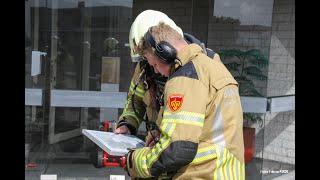 grote brand bij drukkerij SMG Groep Hasselt